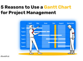 5 Reasons to Use a Gantt Chart for Project Management